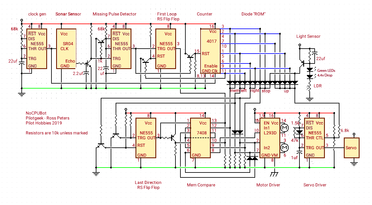 Basic Missing Pulse Detector With The 555